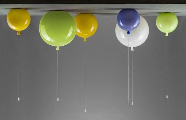 мой моя, люстра в виде воздушных шариков апреля